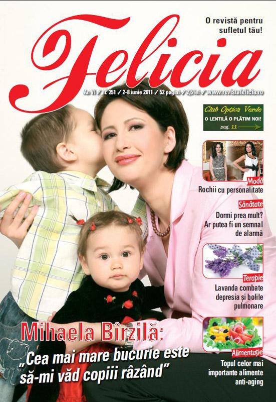 Felicia ~~ Coperta: Mihaela Birzila ~~ 2 Iunie 2011