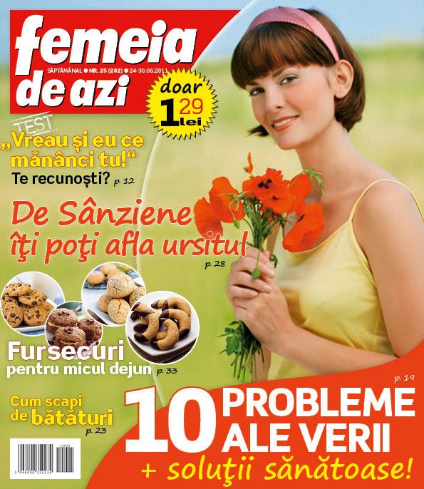 Femeia de azi ~~ De Sanziene iti poti afla ursitul ~~ 24 Iunie 2011