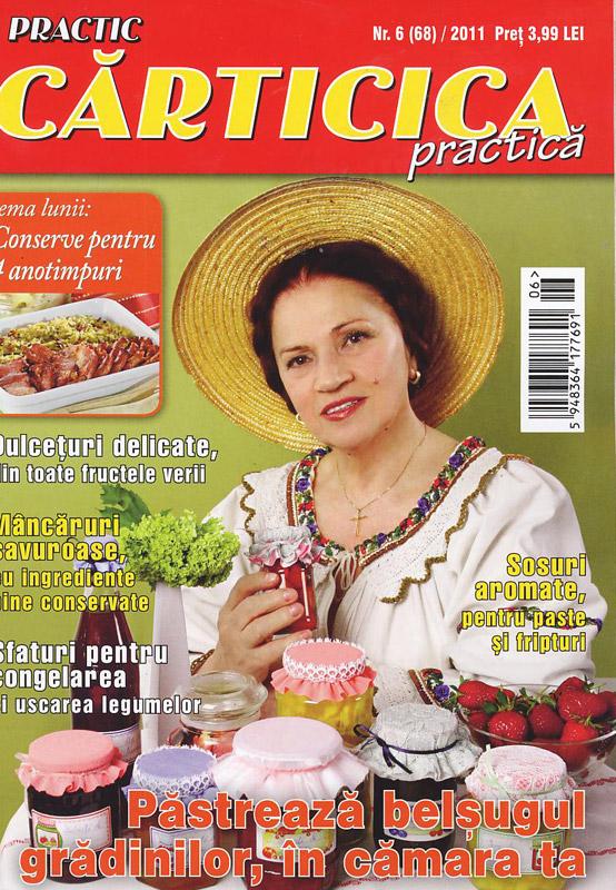Carticica practica ~~ Tema lunii: conserve pentru 4 anotimpuri ~~ Iunie 2011