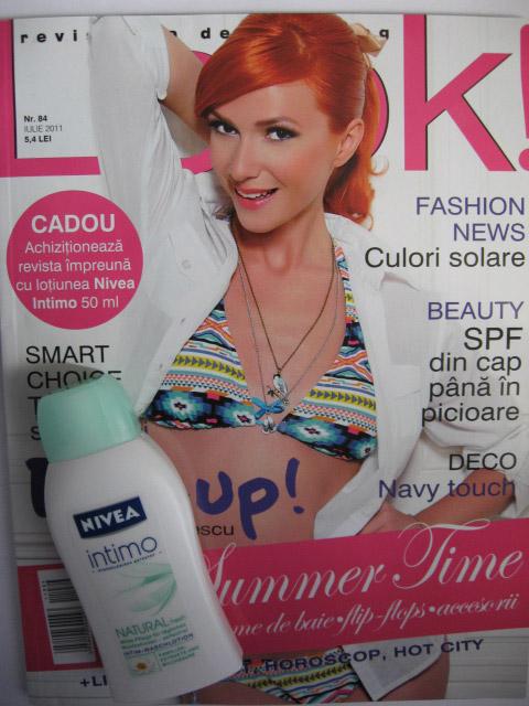 LOOK! ~~ Insert mini-lotiune Nivea Intimo ~~ Iulie 2011
