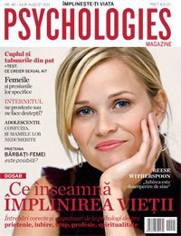 Psychologies Romania ~~ Cover girl: Reese Witherspoon ~~ Iulie-August 2011
