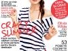Glamour Romania ~~ Cover girl: Olivia Wilde ~~ Iulie 2011