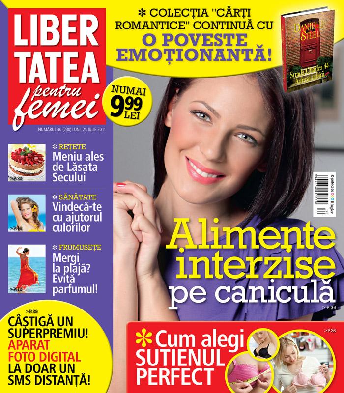 Libertatea pentru femei ~~ Alimente interzise pe canicula ~~ 25 Iulie 2011
