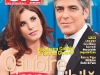 OK! Magazine Romania ~~ Cover people: George Clooney si Elisabetta Canalis ~~ 1 Iulie 2011