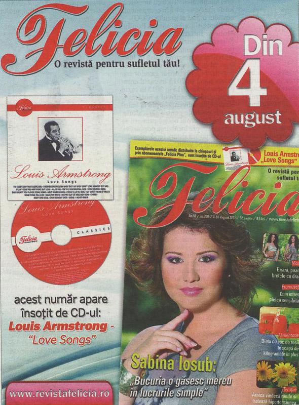 Promo Felicia din 4 August 2011