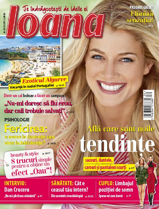 Ioana ~~ numarul 18 ~~ 25 August 2011