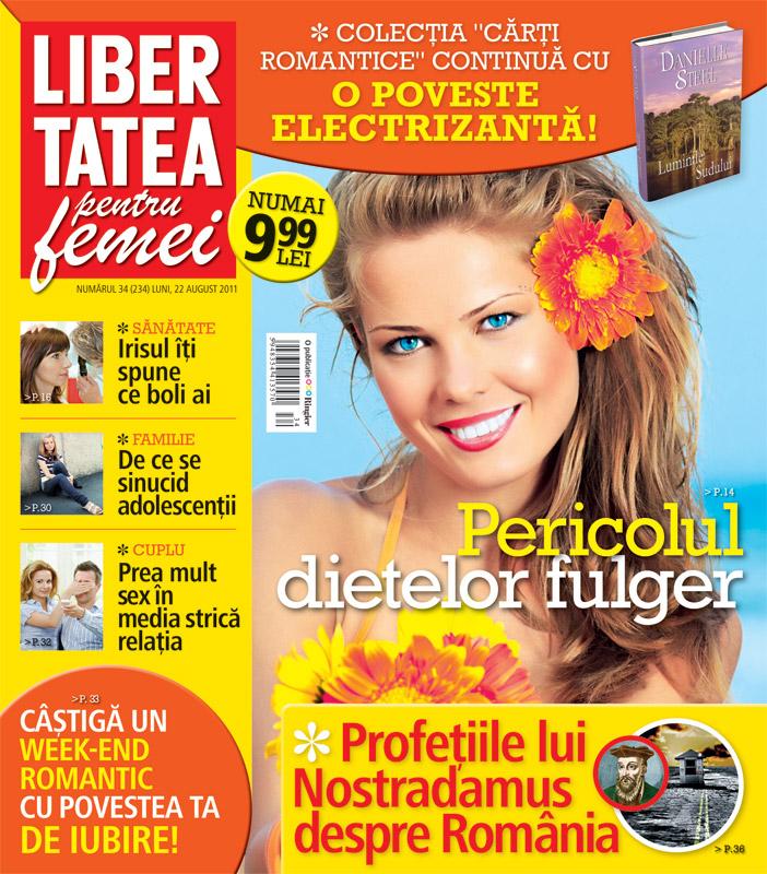 Libertatea pentru femei ~~ Pericolul dietelor fulger ~~ 22 August 2011