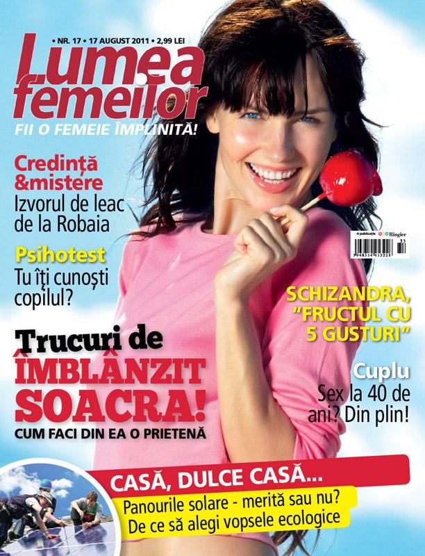 Lumea femeilor ~~ Casa, dulce casa ~~ 17 August 2011