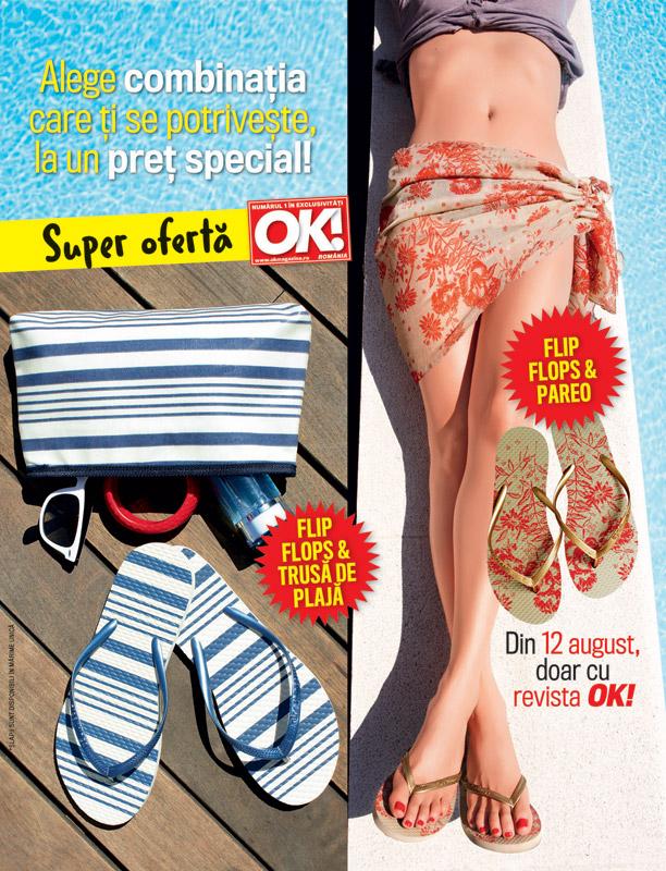 Promo cadourile revistei OK! Magazine Romania, editia din 12 August 2011