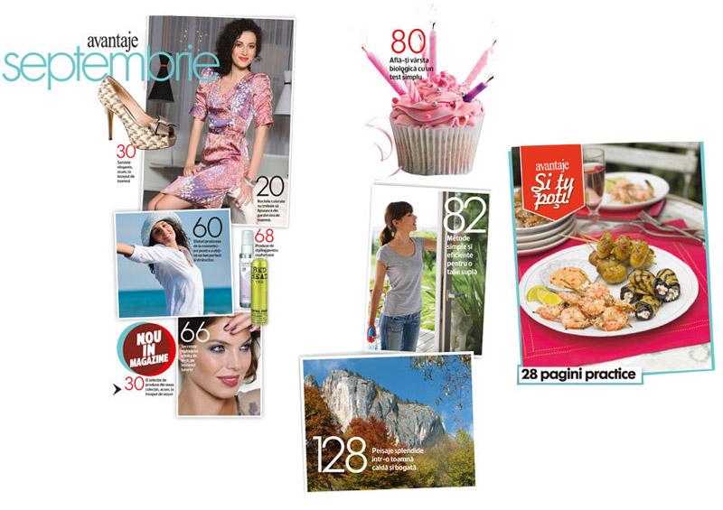Colaj articole Avantaje de Septembrie 2011