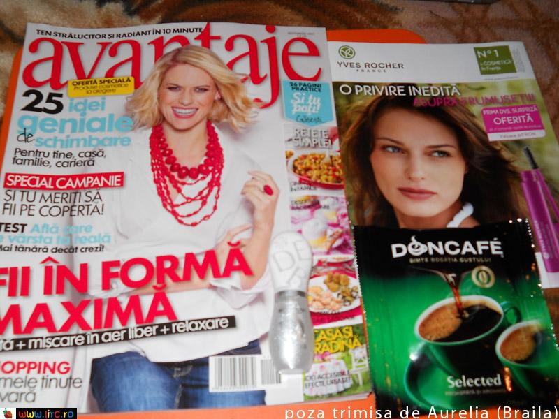 Avantaje ~~ cadou si inserturi ~~ Septembrie 2011
