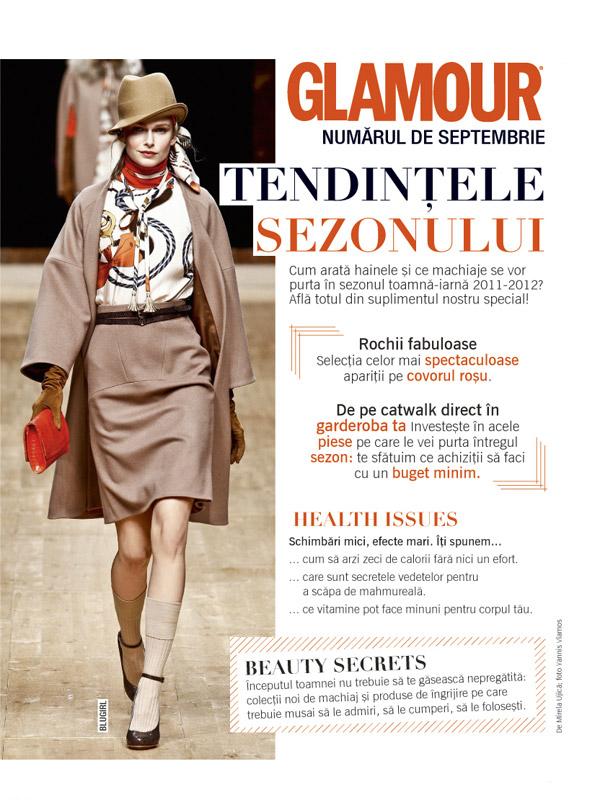 Promo Glamour de Septembrie 2011