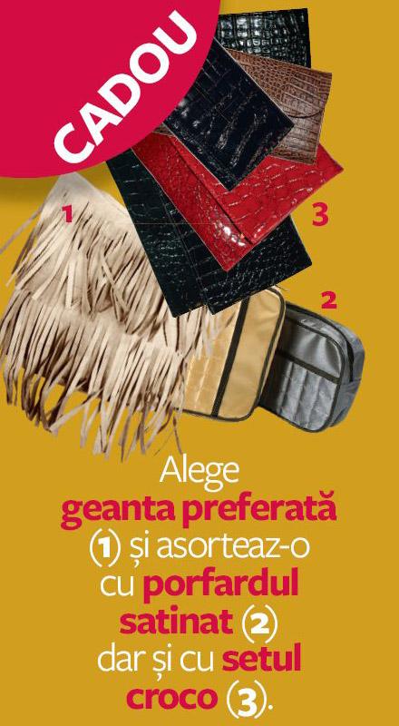 Promo cadourile revistei InStyle Romania, editia de Septembrie 2011