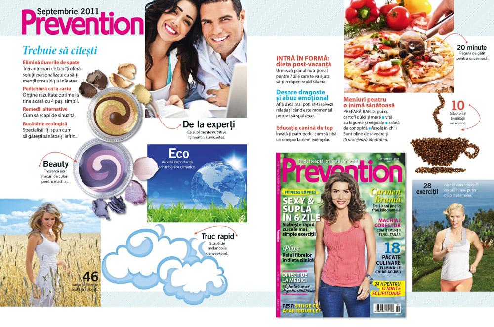 Prezentarea editiei de Septembrie 2011 a revistei Prevention