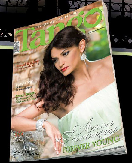 Tango ~~ Coperta: Anca Turcasiu ~~ Septembrie 2011