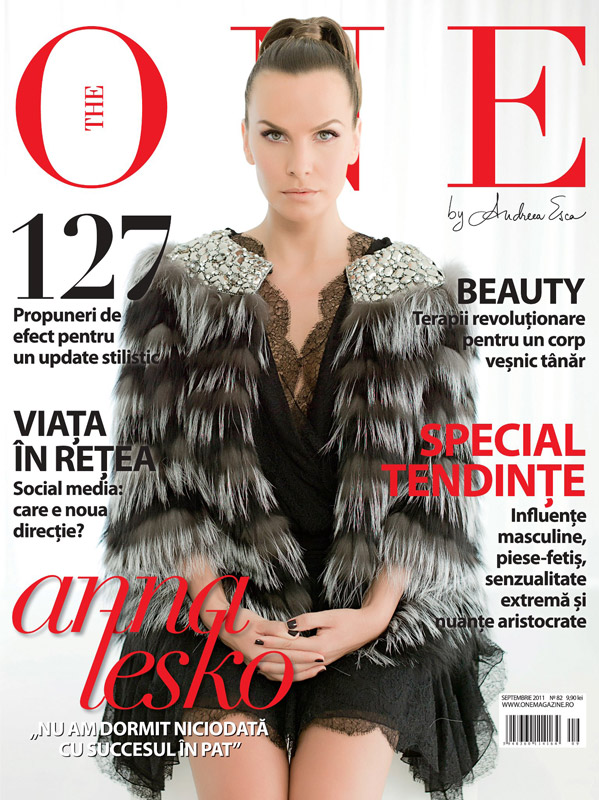The One ~~ Coperta: Anna Lesko ~~ Septembrie 2011