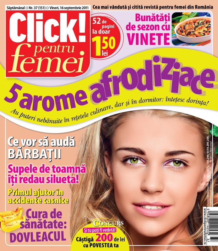 Click! pentru femei ~~ 5 arome afrodiziace ~~ 16 Septembrie 2011