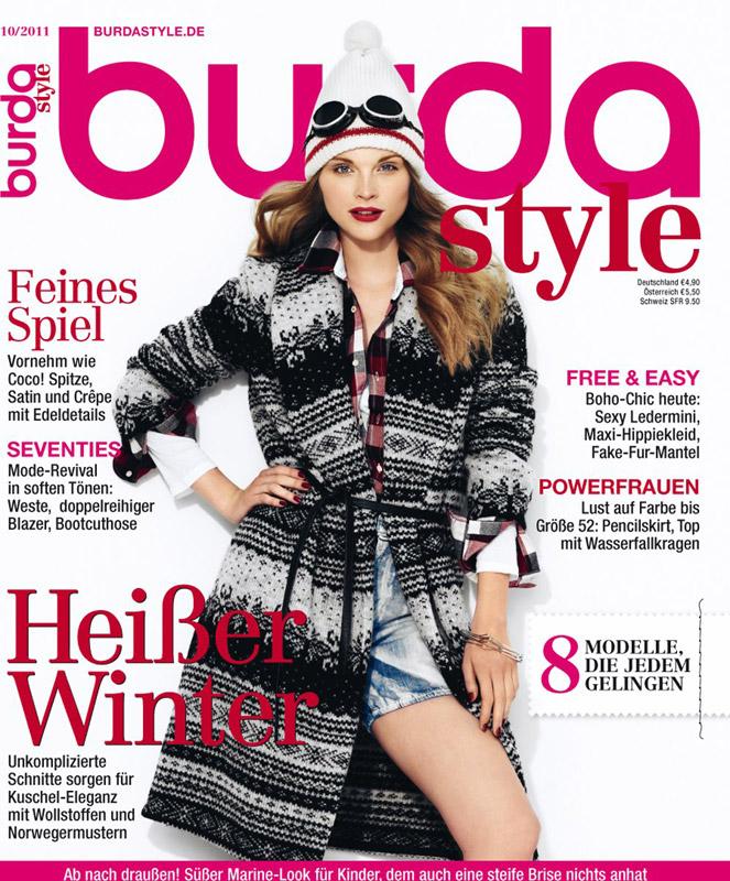 Burda Style ~~ Octombrie 2011