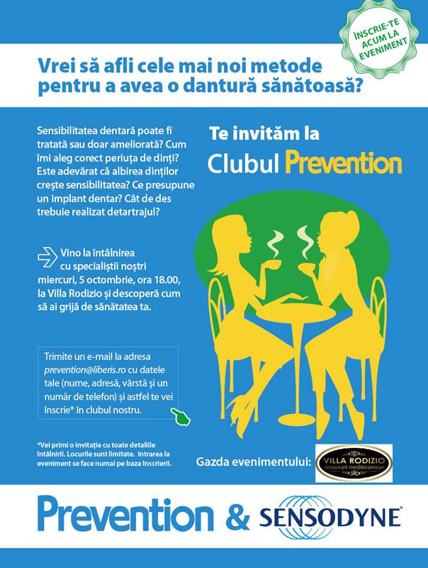 Clubul Prevention ~~ Tema: Dantura sanatoasa ~~ Bucuresti, 5 Octombrie 2011