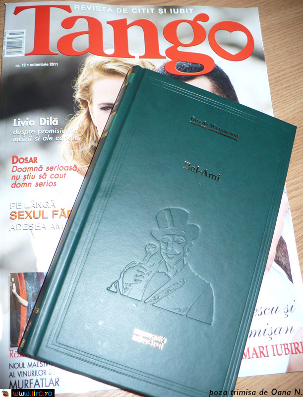 Tango si cartea ~~ Octombrie 2011