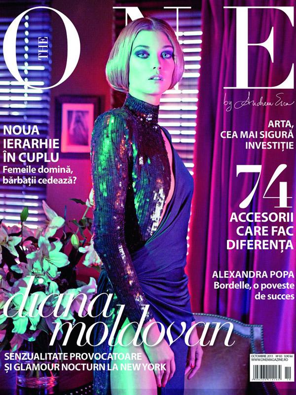 The One ~~ Coperta: Diana Moldovan ~~ Octombrie 2011