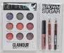 Glamour Beauty Collection ~~ Detalii pentru varianta BROWN SUGAR ~~ Kit-ul conţine un lipgloss, un eyeliner, un lipliner, trei farduri de pleoape, trei blush-uri şi trei lipglossuri ~~ Octombrie 2011