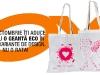 Geanta eco in 2 variante de design ~~ cadoul revistei JOY Romania ~~ Editia Octombrie 2011
