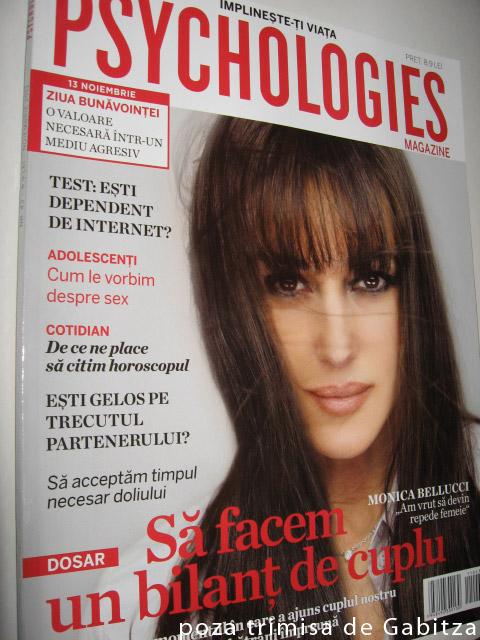 Psychologies ~~ Noiembrie 2011