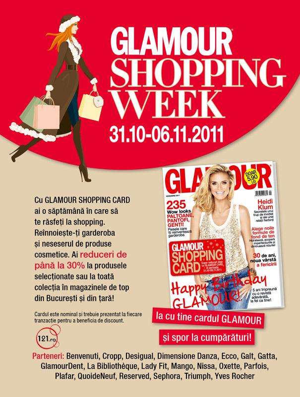 Promo Glamour de Noiembrie, 2011