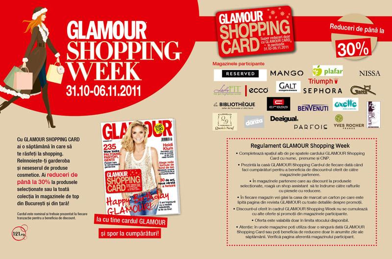 Glamour Shopping Week ~~ edtia a 2-a ~~ 31 oct - 06 nov 2011