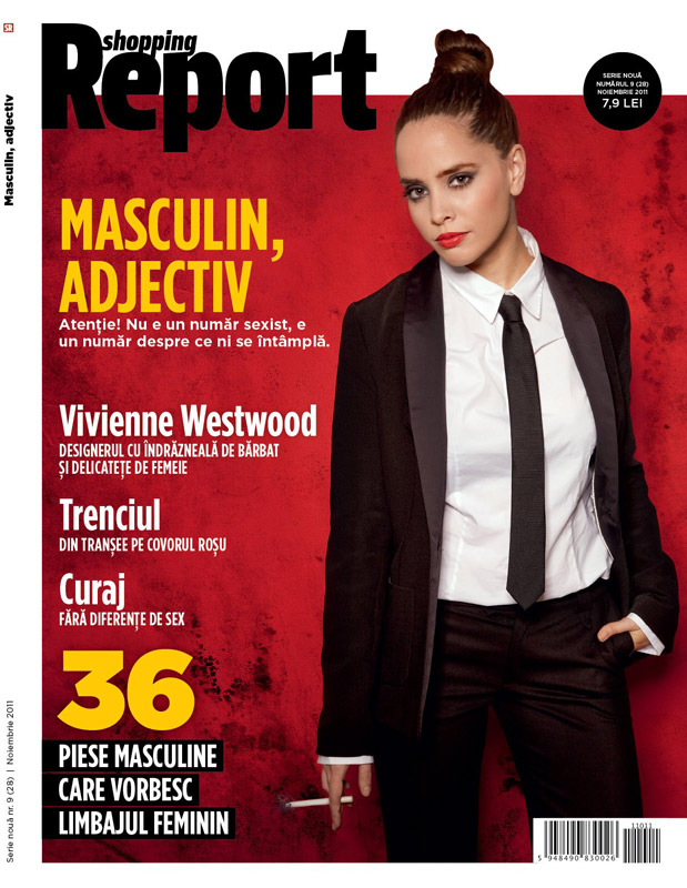 Shopping Report ~~ Coperta: Diana Marasoiu ~~ Noiembrie 2011