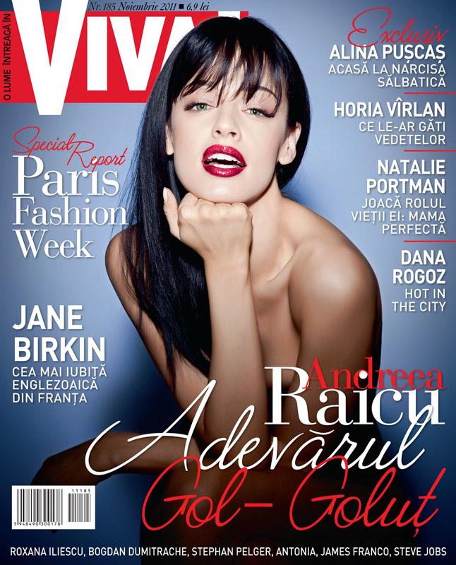 VIVA! ~~ Coperta: Andreea Raicu ~~ Noiembrie 2011