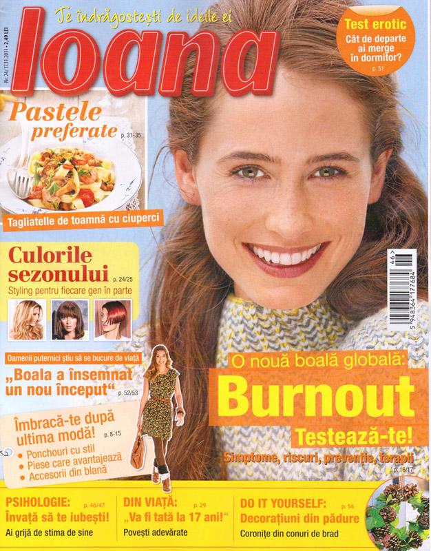 Ioana ~~ numarul 24 ~~ 17 Noiembrie 2011
