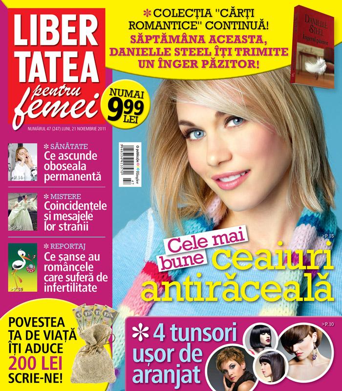 Libertatea pentru femei ~~ Cele mai bune ceaiuri intiraceala ~~ 21 Noiembrie 2011