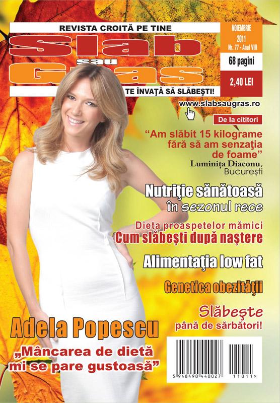 Slab sau gras ~~ Coperta: Adela Popescu ~~ Noiembrie 2011