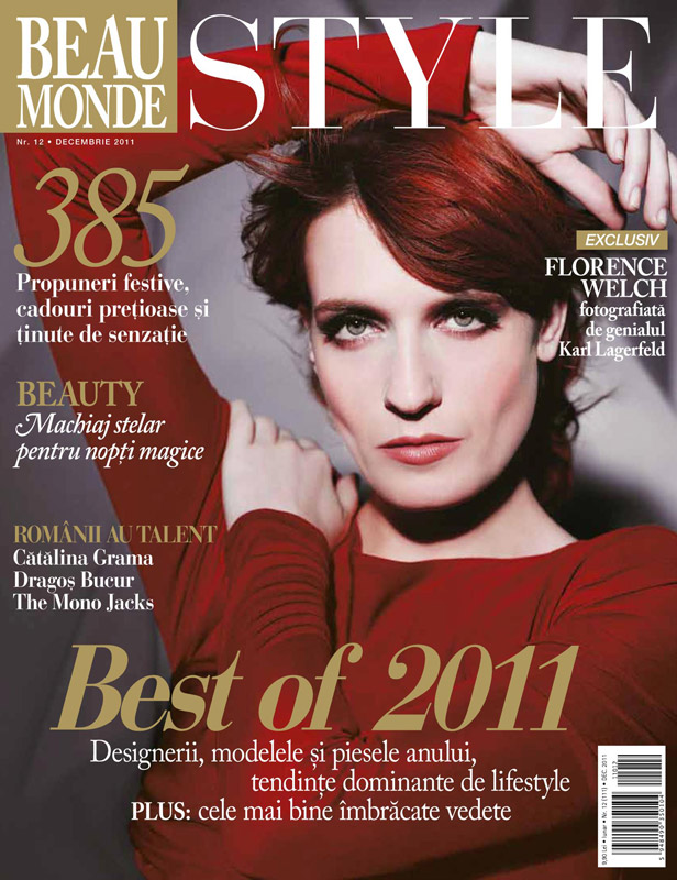 Beau Monde Style ~~ Florence Welch ~~ Decembrie 2011