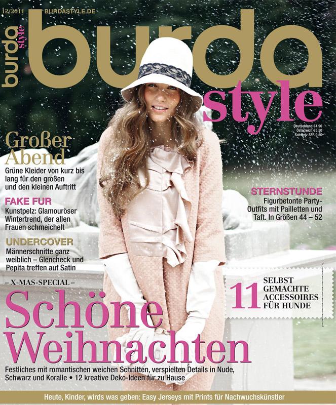 Burda Style ~~ Decembrie 2011