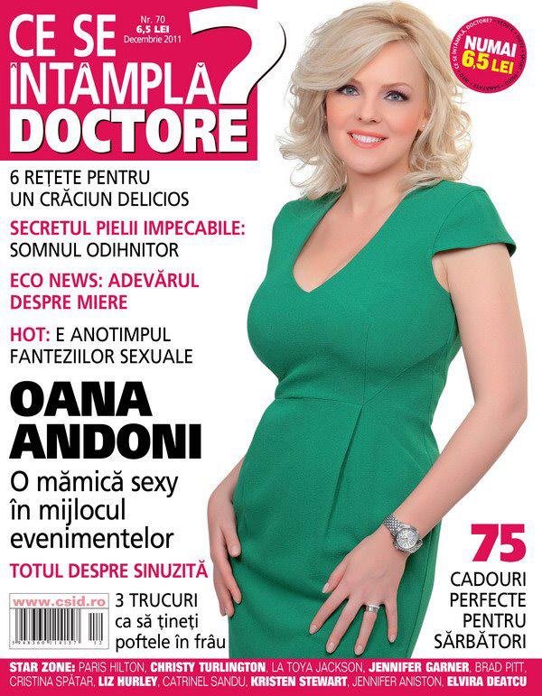 Ce se intampla, Doctore?  ~~ Coperta: Oana Andoni ~~ Decembrie 2011