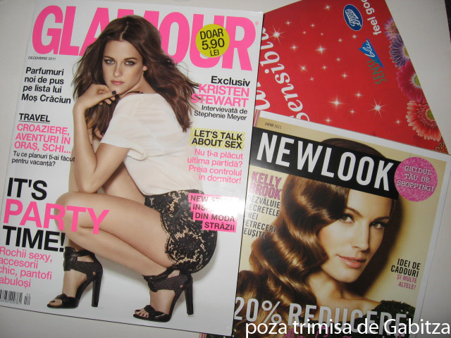 Glamour ~~ Inserturi ~~ Decembrie 2011