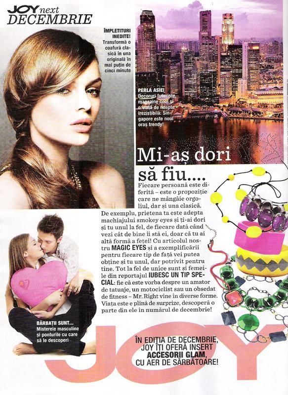 Promo JOY editia Decembrie 2011