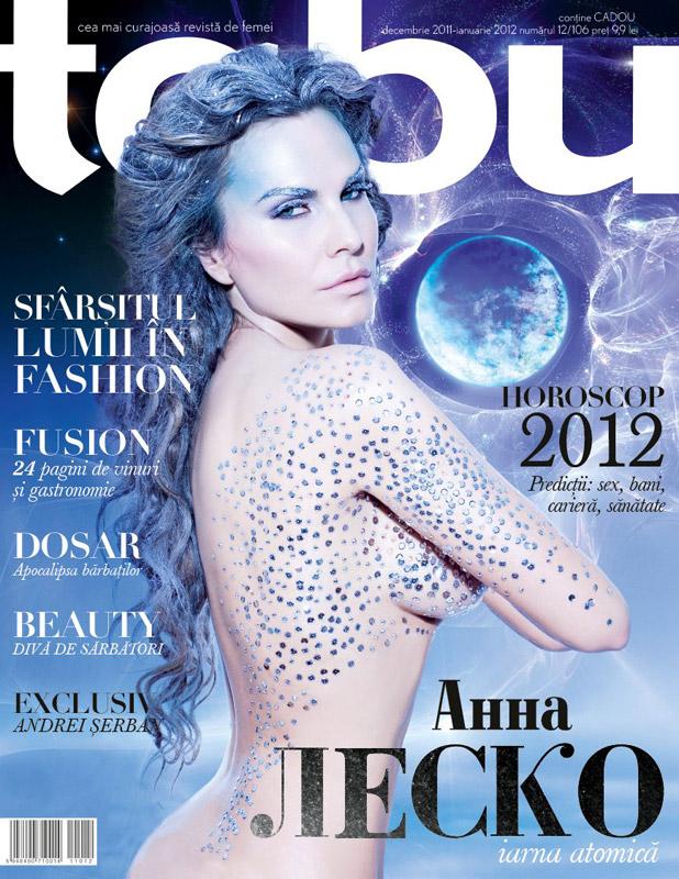TABU ~~ Coperta: Anna Lesko ~~ Decembrie 2011 - Ianuarie 2012