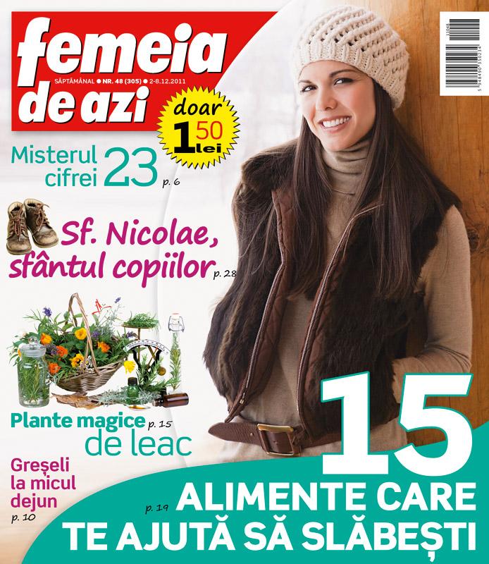 Femeia de azi ~~ 15 alimente care te ajuta sa slabesti ~~ 2 Decembrie 2011