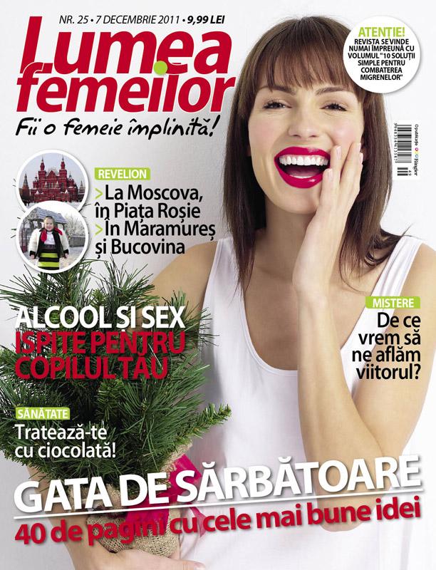 Lumea Femeilor ~~ 7 Decembrie 2011