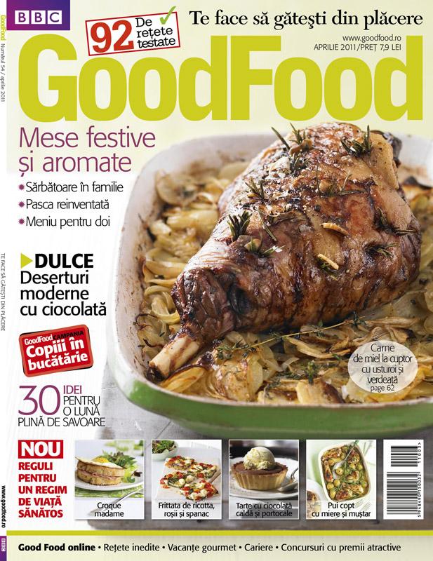 Good Food ~~ Mese festive si aromate ~~ Aprilie  2011