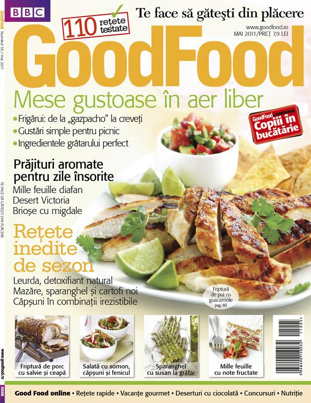 Good Food ~~ Mese gustoase in aer liber ~~ Mai  2011