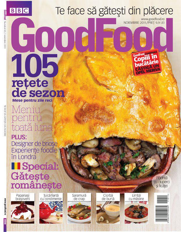 Goog Food Romania ~~ Meniu pentru zile reci ~~ Noiembrie 2011