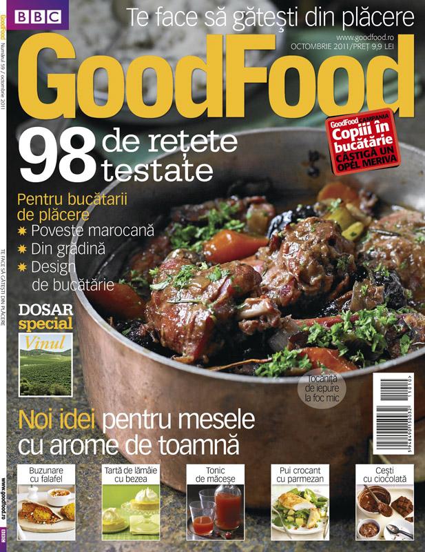 Good Food Romania ~~ Noi idei pentru mesele cu arome de toamna ~~ Octombrie 2011