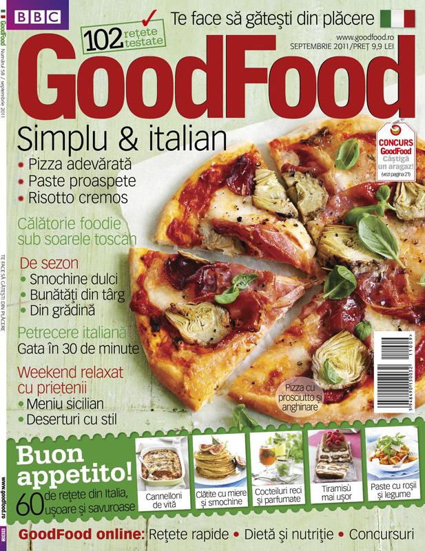 Good Food Romania ~~ Simplu si italian ~~ Septembrie  2011
