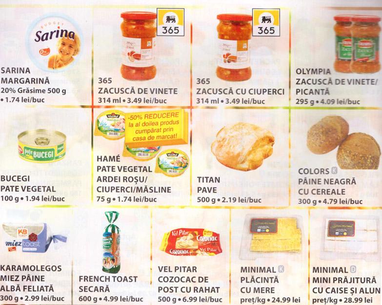 Oferte produse de post in magazinele Mega-Image ~~ 10-22 noiembrie 2011