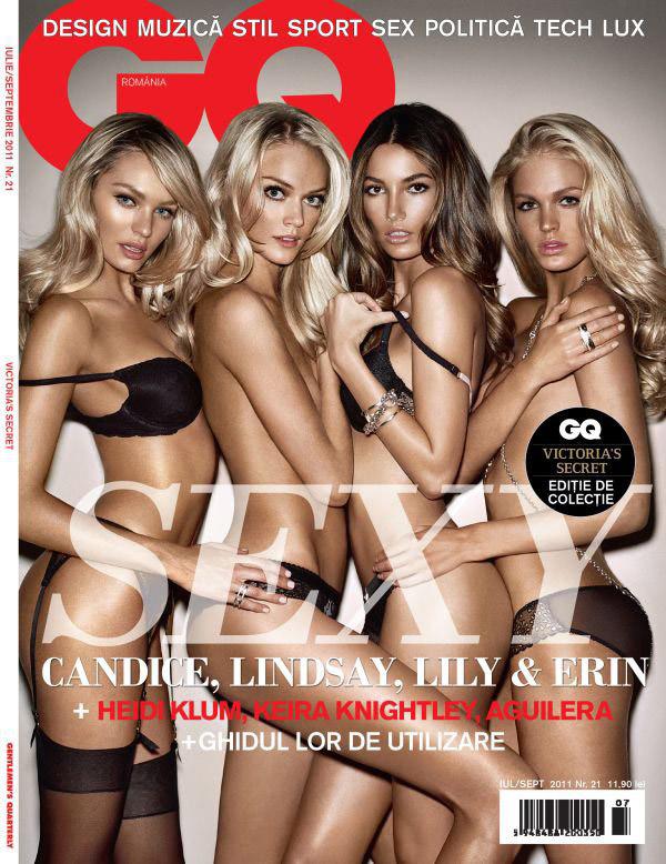 GQ Romania ~~ Summer issue ~~ Victoria\'s Secret: Editie de colectie ~~ Iulie - Septembrie 2011